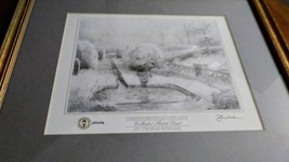 "Vintage Thomas  Kinkade  Collector  Sketch Print  #22626  ""Gardens Beyond Autumn image 6"