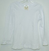 Blanks Boutique Long Sleeved Ruffle Shirt Color White Size 3T image 1