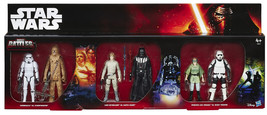 Star Wars Epic Battles 6-pack Action Figure Darth Vader Luke Chewbacca - $52.00