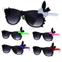 Kids Girls Child Size Bow Bunny Ear Horned Sunglasses - $9.95