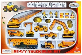 World Distribution Toys Construction Heavy Equipment Truck Car Vehicle Crane Toy