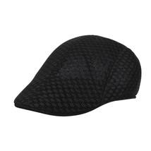Men Peaked Cap Women Cap Unisex Visors Breathable Mesh sboy Hats Casual ... - £5.63 GBP