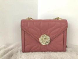 Michael Kors Whitney Petal Quilted Leather Shoulder Bag Rose Pink $358 - $199.99