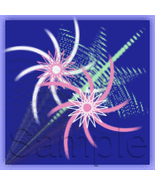 Custom Avatar Twirly Stars and Custom Booth Banner to Match Brand Yourself - $10.00