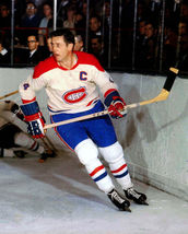 Jean Beliveau Montreal Canadiens 4U Vintage 8X10 Color Hockey Memorabili... - $6.99