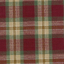 Longaberger Cilantro Booking Basket Orchard Plaid Fabric Drop In Style L... - $9.85