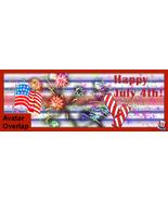 Web Banner 4th of July Facebook Timeline Fan Page Banner Fireworks Firec... - $10.00