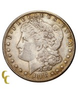 1888-S Silver Morgan Dollar $1 (Extra Fine, EF Condition) Nice Detail! - €125,06 EUR