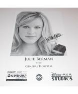 Julie Marie Berman Autograph Reprint Photo 9x6 General Hospital 2006 Chi... - $9.99