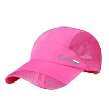 Hot Mesh Cap Fashion Unisex Sports Quick Drying Hat Summer Outdoor Baseb... - £7.28 GBP