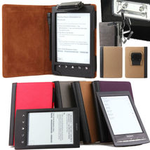 BROWN BLACK LEATHER CASE COVER WITH RECHARGEABL... - $19.90