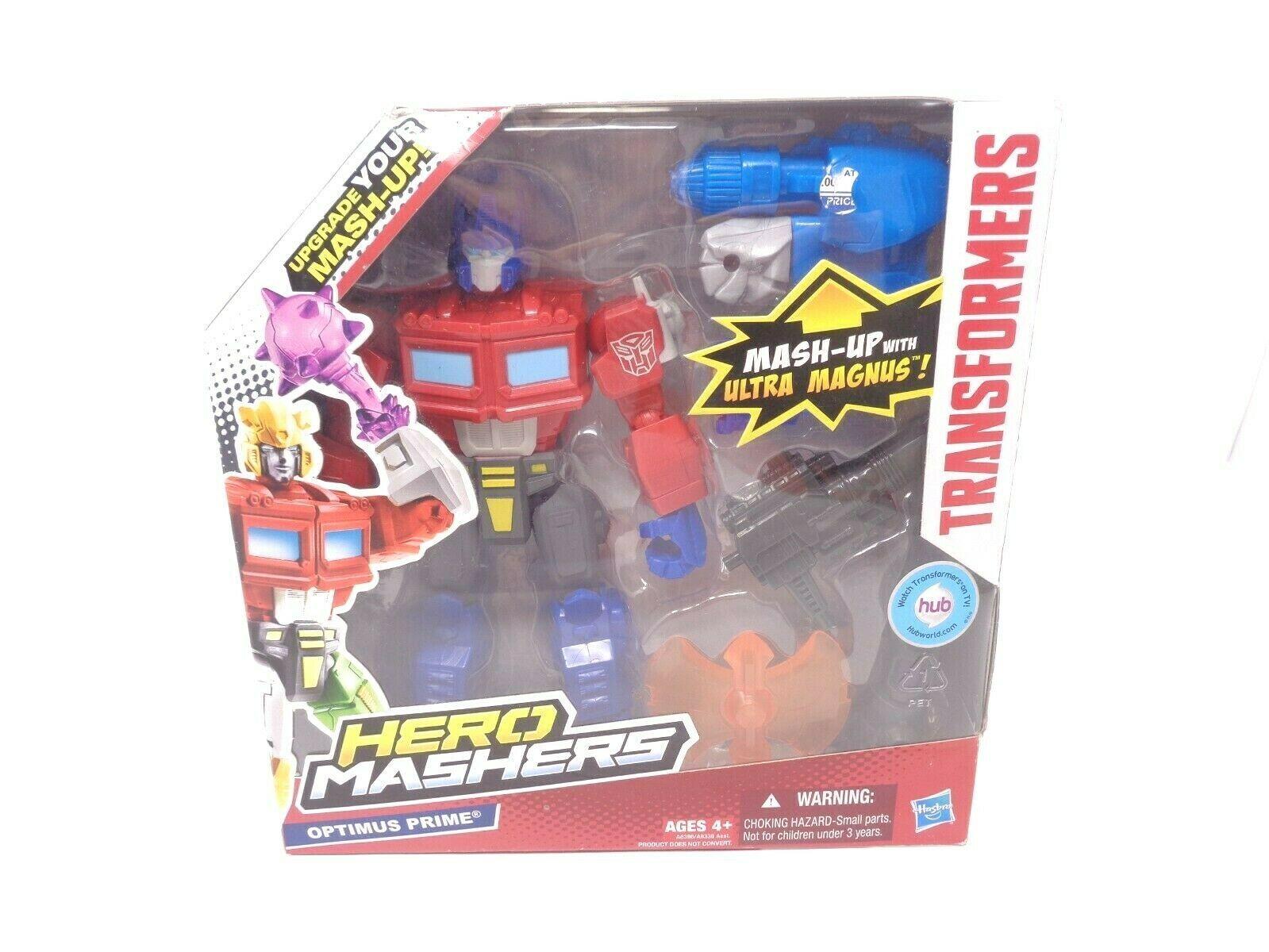 Transformers Hero Mashers Electronic Optimus Prime NIB