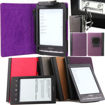 NUBUCK LEATHER CASE COVER WITH RECHARGEABLE LIG... - $19.90