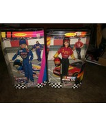 Lot of 2 Barbie Dolls 1999 Nascar Official #94 & 50th Anniversary Nascar... - $40.58