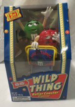 M&M WILD THING ROLLER COASTER CANDY DISPENSER NEVER BEEN REMOVED FROM TH... - $10.00