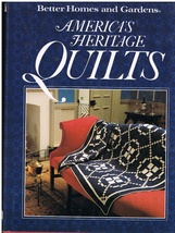America's Heritage Quilts Quilt Craft Book - $14.00