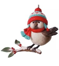 HALLMARK 2017 Ornament COZY CRITTERS New Bird NINA AUBE 1st in Series SH... - $65.00