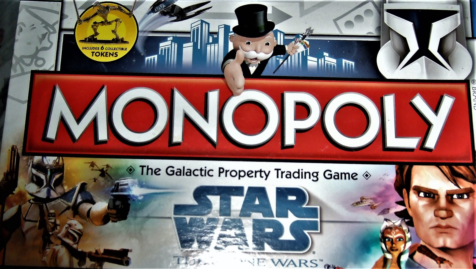 Monopoly  - Star Wars The Clone Wars Monopoly - Board Game