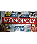 Monopoly  - Star Wars The Clone Wars Monopoly - Board Game (Complete) - $12.90