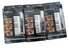 Covergirl Easy Breezy Brow Powder Kit 710 Soft Brown 705 Rich Brown Lot ... - $17.99