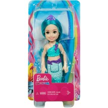 Barbie Dreamtopia Chelsea Mermaid Doll, 6.5-Inch With Teal Hair And Tail - $9.99