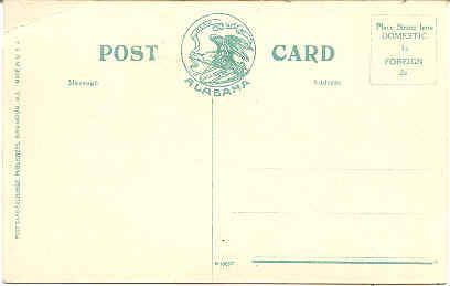 Martin School Birmingham Alabama Vintage Post Card