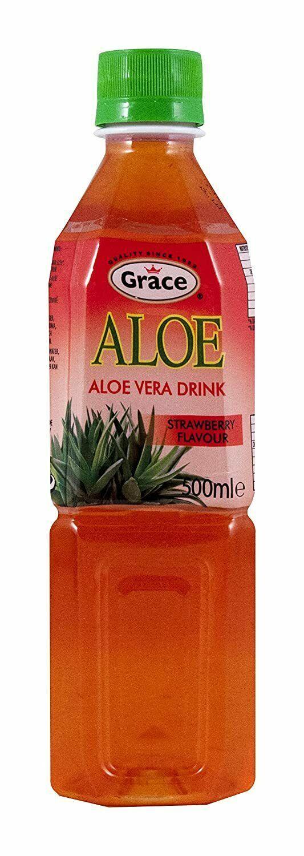 Grace - Aloe Vera Drink - Strawberry Flavour - 500ml - $29.32