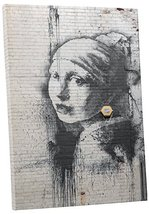 """Pingo World 0829QGIL9X4 """"Banksy Girl with Earring"""" Gallery Wrapped Canvas Print, - $47.47"""
