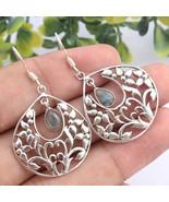Kanika Jewelry Trove 925 Sterling Silver Labradorite Gemstone Earrings f... - $23.99