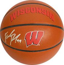 Frank Kaminsky signed Wisconsin Badgers Logo Rawlings Composite NCAA Bas... - $94.95