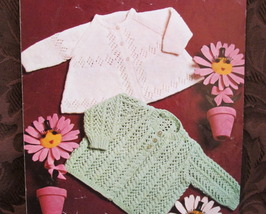 Patons BABY Knitting Patterns Baby KNITTED SWEATER JACKETS Chest 18 - 19... - $4.95