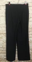 Nina Ricci 39 Avenue Montaigne Paris Wool Pants Slacks Silk Blue Women's Size 4 - $38.88