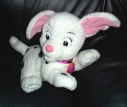 "Disney Dalmatians ODDBALL 10"" Plush Barking Sound Pink Nose Puppy Dog - $14.89"