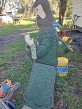 Metal Nativity figures - $170.00