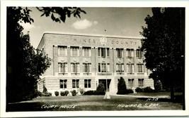 Vtg Real Foto RPPC m-38 Howard, South Dakota Palacio de Justicia 1950s Kodak Unp - $58.94