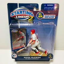2000 Starting Lineup 2: Mark McGwire Action Figure, Brand New & Sealed - $7.87