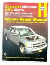 Haynes Repair Manual for Chevrolet Silverado GMC Sierra 2007 - 2010 2WD / 4WD - $15.99