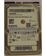 HM020GI Tested Samsung 20GB 2.5in 9.5MM SATA Hard Drive Our Drives Work - $14.49