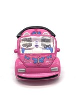 Polly Pocket Pink VW Bug Car 2000 Mattel - $9.90