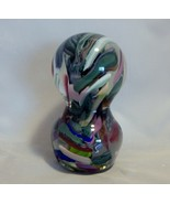 Signed Anthony De Palma End of the Day Large Art Glass Paperweight - $74.25