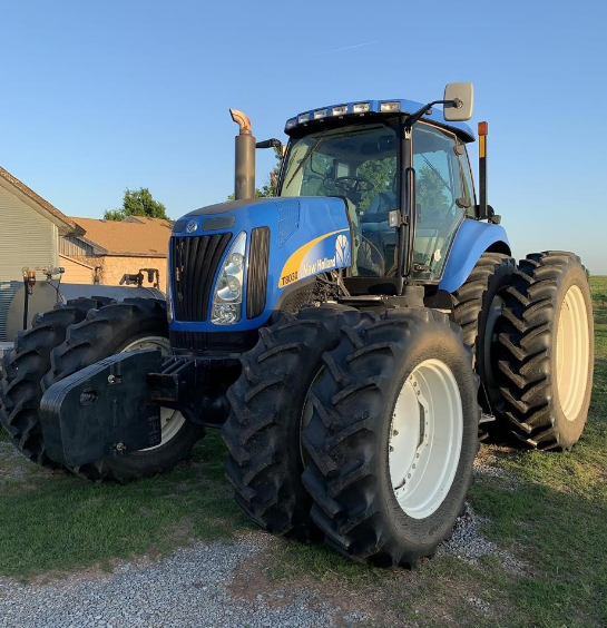 2010 NEW HOLLAND T8030 For Sale In Watonga, Oklahoma 73772