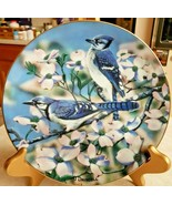 "O'Driscoll Collector Plate Favorite American Songbird ""Blue Jays of Spri... - $18.70"