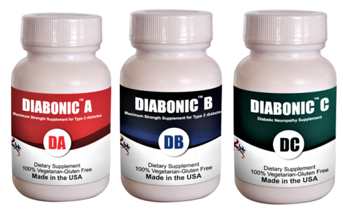 Primary image for Diabonic ABC-Diabetes complete protocol (Capsule, 3 Bottles of 60 ct )