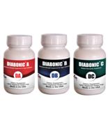 Diabonic ABC-Diabetes complete protocol (Capsule, 3 Bottles of 60 ct ) - $94.99