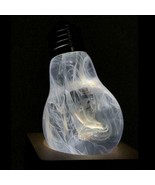 Cool Light Bulb Table Lamp Cosmos Effect LED 3D Lighting Ghost Bedside H... - $37.22+