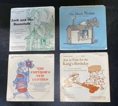 Children's 45 rpm vintage story record Lot 60s 70s  - Scholastic Beansta... - £14.47 GBP