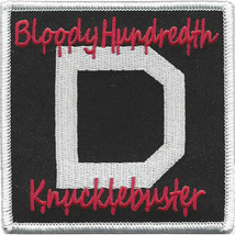 "100th AMXS BLOODY HUNDREDTH KNUCKLEBUSTER 3.5"" EMBROIDERED PATCH - $17.14"