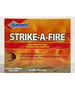 Diamond  48-Pack Strike-A-Fire Starter Match Sticks Firestarter Log Long... - $20.78