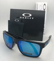 New OAKLEY Sunglasses HOLBROOK XL OO9417-0359 Black with Prizm Sapphire ... - $159.99