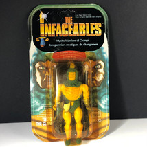 1984 Galoob Infaceables Vintage Action Figure Moc Warrior Change Torto Claw Bird - $296.95